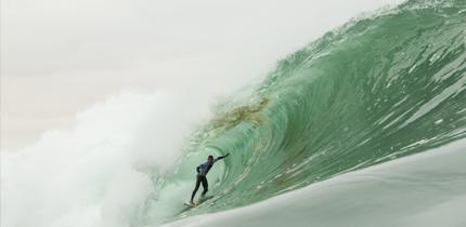 """El Gringo """"bombeó"""" olas perfectas y para mañana se esperan nuevas marejadas en Arica - Maui And Sons Arica Pro Tour - Dia 2"""