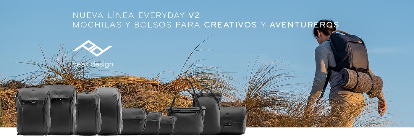 Mochilas y Bolsos Peak Design Everyday V2