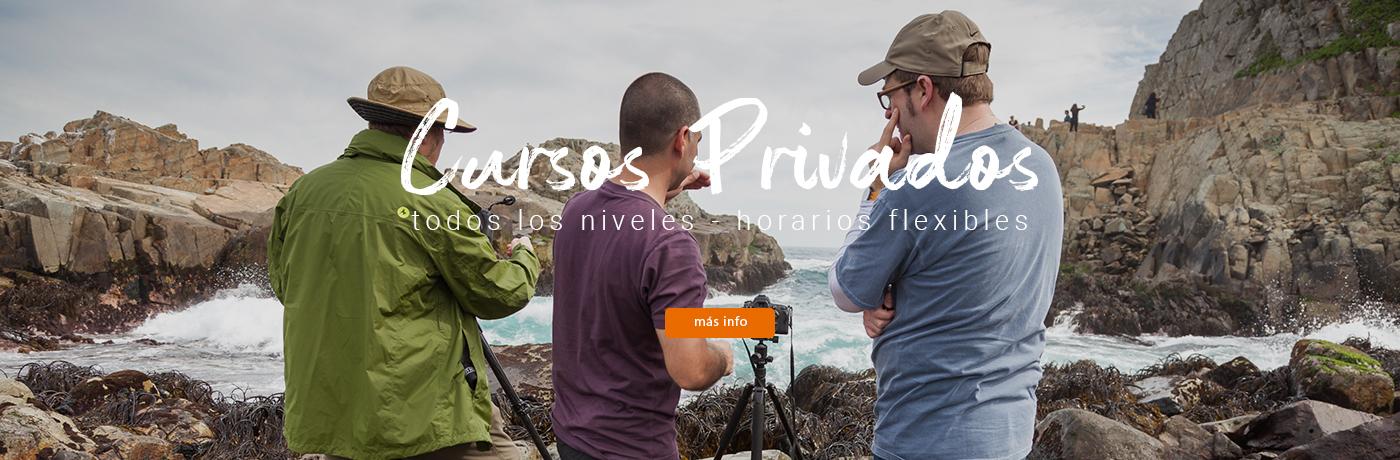 Cursos Fotográficos Privados - Clases Particulares