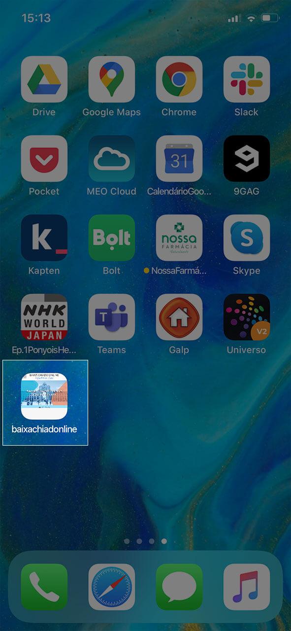 Atalho iOS