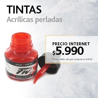 TINTAS ACRÍLICAS