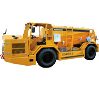 Cemkret - Transportadores de Hormigón Seco – Bajo Perfil