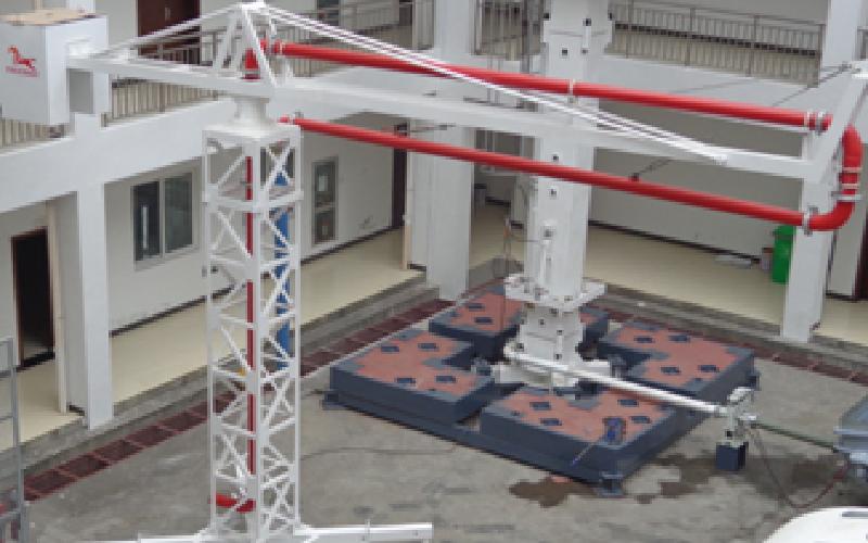 CONCRETE PLACING BOOM – MECHANICAL - Brazo de Distribución de Hormigón – Mecánico