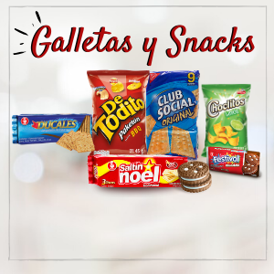 GALLETAS Y SNACKS