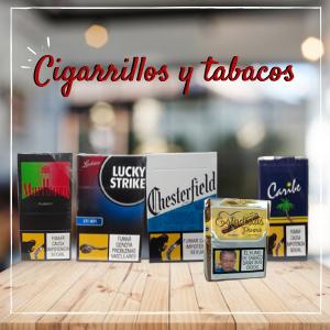 CIGARRILLOS Y TABACOS