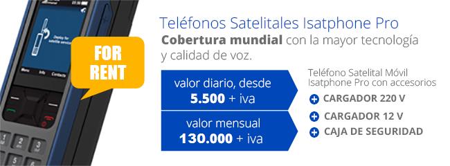 Teléfonos Satelitales Isatphone Pro