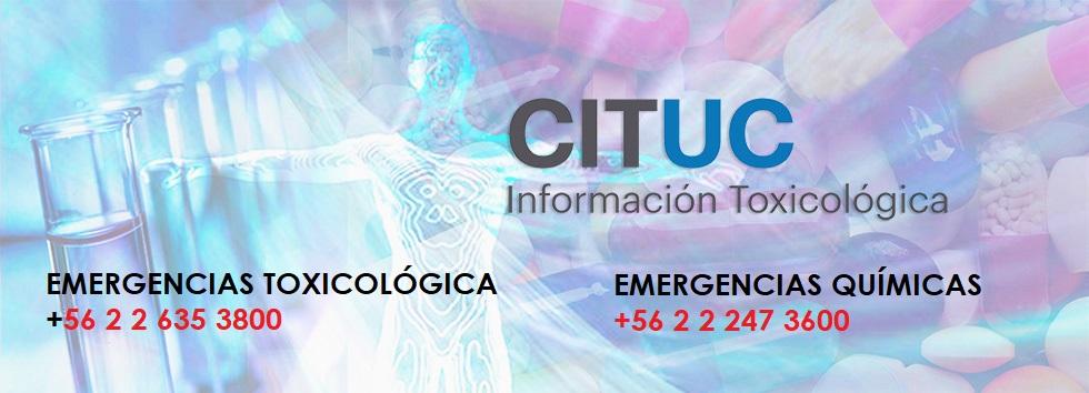 CITUC EMERGENCIAS TOXICOLÓGICA +56 2 2 635 3800
