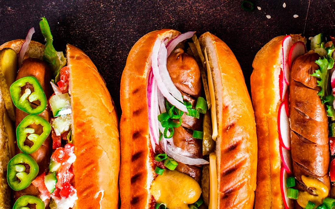 Salchichas y Chorizos