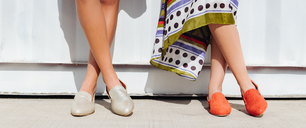 Siehe Sandalen