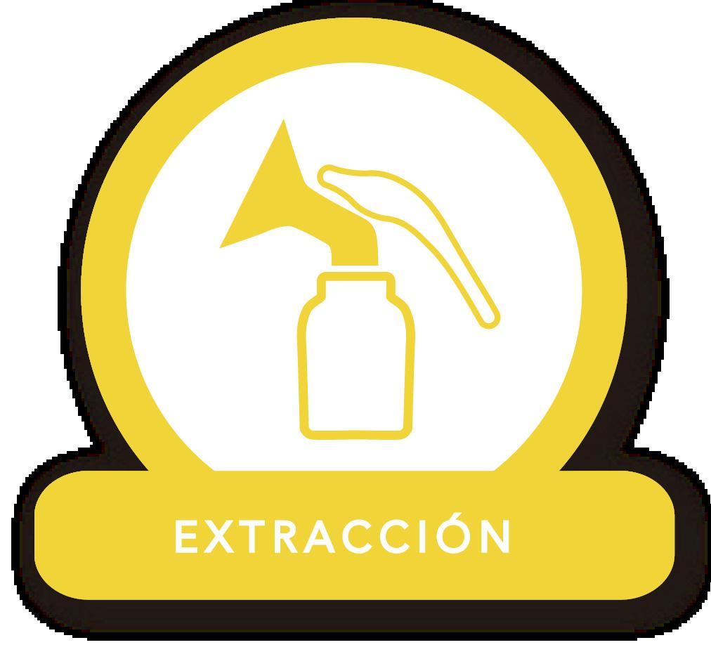 Ícono extractor manual