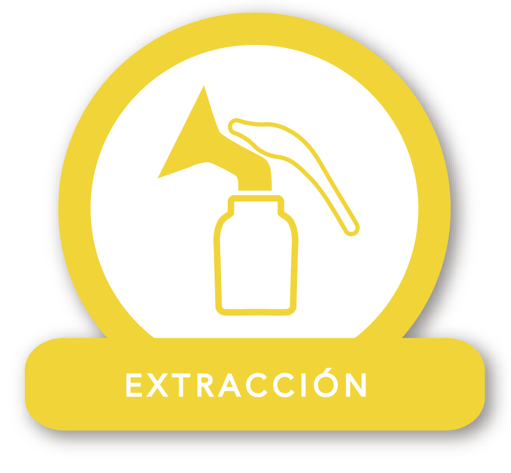 Ícono extractor manual
