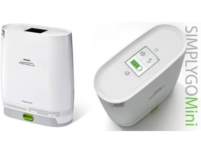 Concentradores de oxigeno portatil