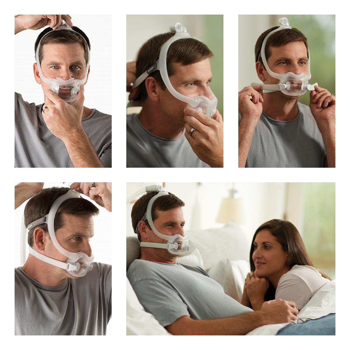 Mascaras para maquinas CPAP - BIPAP