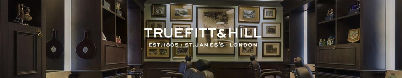 Durante más de dos siglos, Truefitt & Hill, reconocido como el mejor peluquero y perfumista tradicional de Londres, ha proporcionado a los caballeros exigentes sólo lo mejor en productos y servicios de cuidado personal. Nuestra oferta realmente da a los hombres la oportunidad de verse y sentirse lo mejor posible.