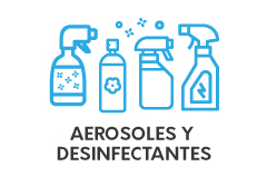 Aerosoles y Desinfectantes