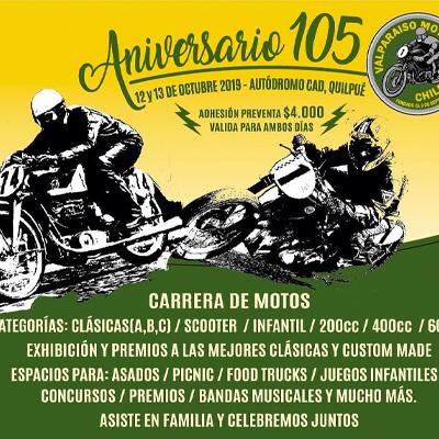 105 aniversario