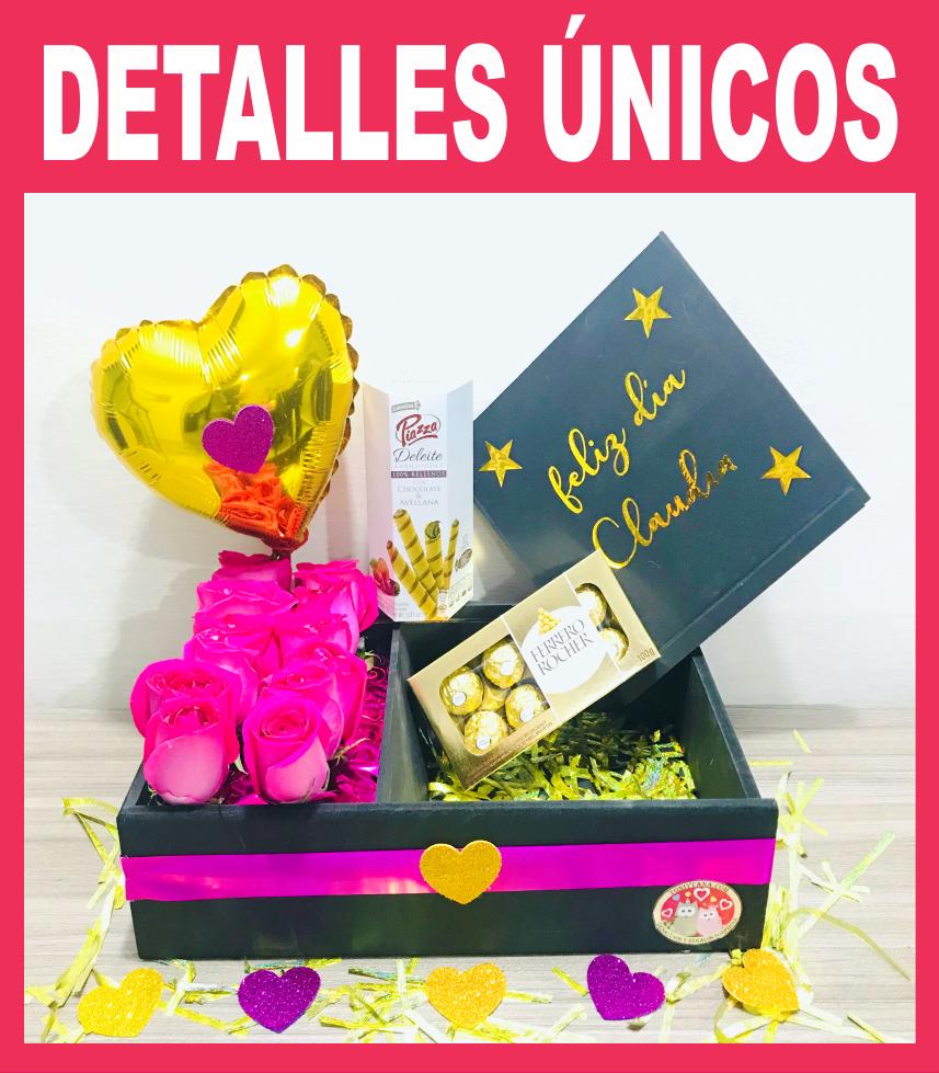 Flores Chocolates<br> y Globos