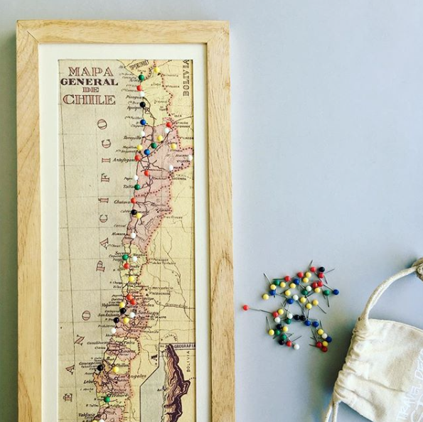 Mapas pineables: pinear y recordar
