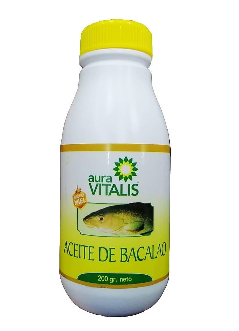 Aceite de bacalao es vitamina y salud