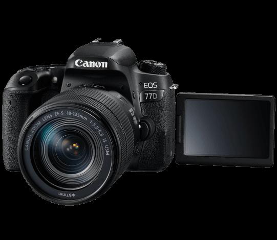 <b><br><small>Disfruta de la</small><br><big>Canon 77DD</big></b>